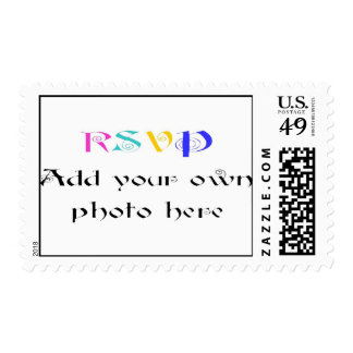 Create your Own Wedding Invitation Photo Stamps