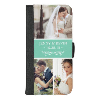 Create Your Own Wedding Photo Collage iPhone 8/7 Plus Wallet Case