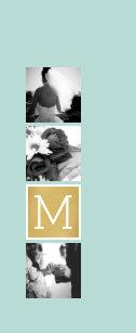 9608adc943e88 Create Your Own Wedding Photo Collage Monogram Flip Flops