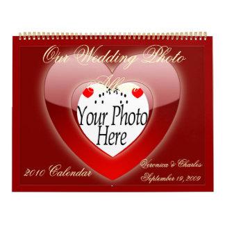 CREATE YOUR OWN WEDDING PHOTO CALENDAR