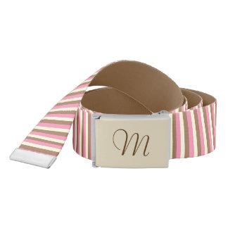 Create Your Own - Whimsical Neapolitan Stripes Belt