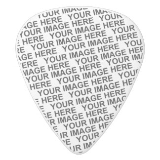 Create Your Own White Delrin Guitar Pick