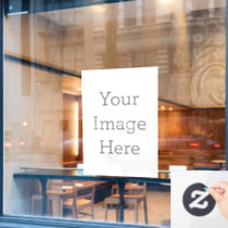 Create Your Own Window Cling