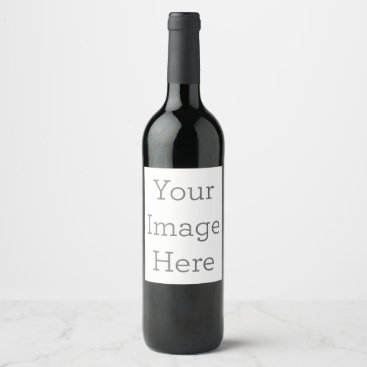 Beach Themed Create Your Own Wine Label