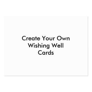 Create Your Own Wishing Well Cards Business Card Template