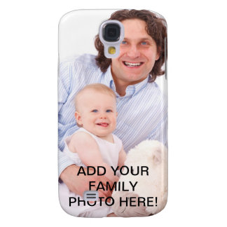 Create Your Own with Family Photo Galaxy S4 Case