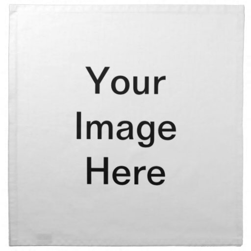 Create Your Own Women Valentine Gifts QPC Template Cloth Napkin