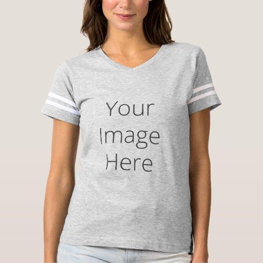 Create Your Own Women 39 S Football T Shirt Zazzle