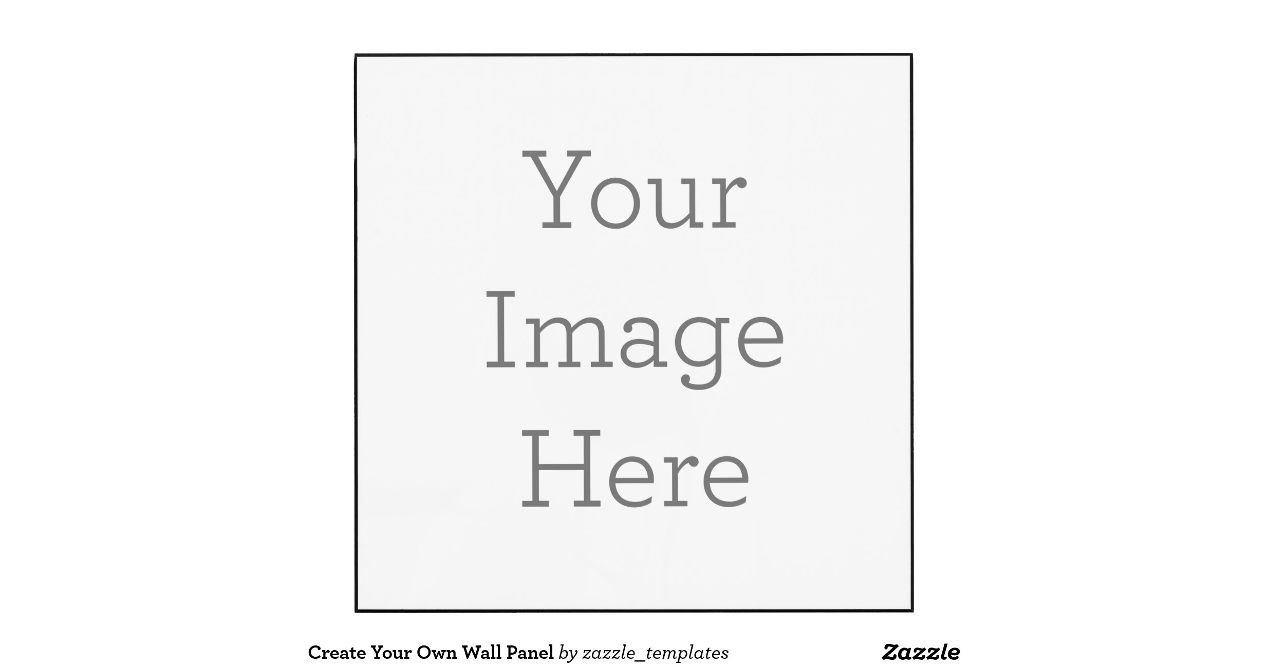 Design Your Own Wall Art Writing : Wall panel zazzle