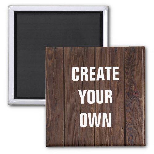 Create Your Own Wooden Floor Look Magnet