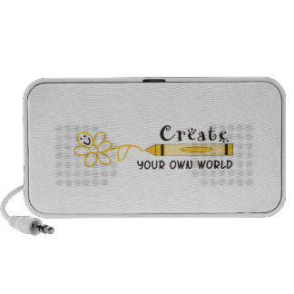 CREATE YOUR OWN WORLD SPEAKER SYSTEM