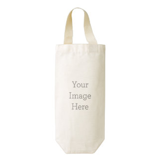 Create Your Own Zazzle HEART Wine Bag