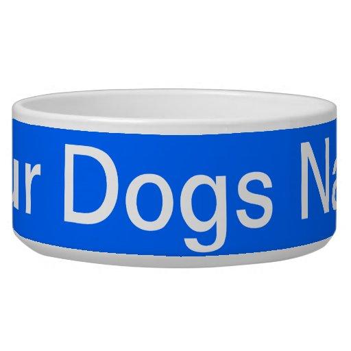 Create Your Pet Dog Bowls Dog Bowl