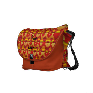 Create Your Rickshaw Messenger Bag Orange