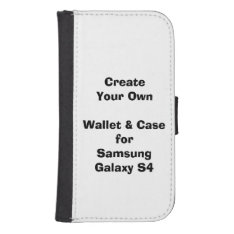 Create Your Samsung Galaxy S4 Wallet Case at Zazzle