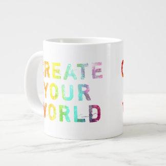 Create Your World Large Coffee Mug