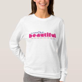 Created Beautiful (by God) Christian ladies hoodie