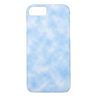 Created Blue and White Clouds Design iPhone 8/7 Case