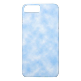 Created Blue and White Clouds Design iPhone 8 Plus/7 Plus Case