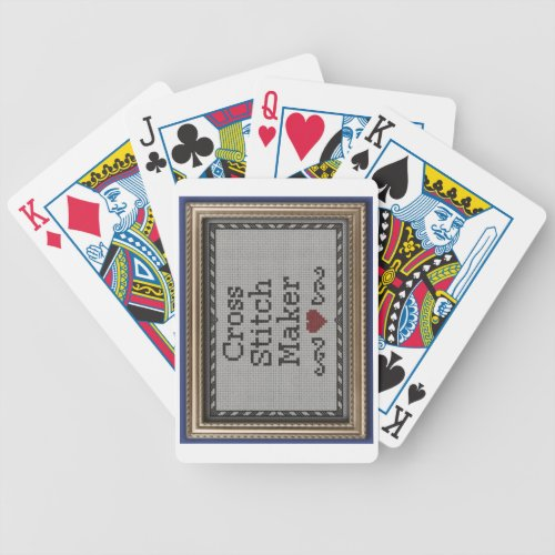 Created by you bicycle playing cards