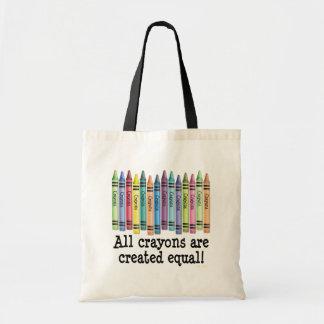 Created Equal Budget Tote Bag