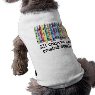 Created Equal Doggie Tshirt
