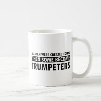 Created equally trumpeters design coffee mug