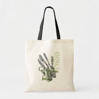 Created in HIS Image Tote Bag
