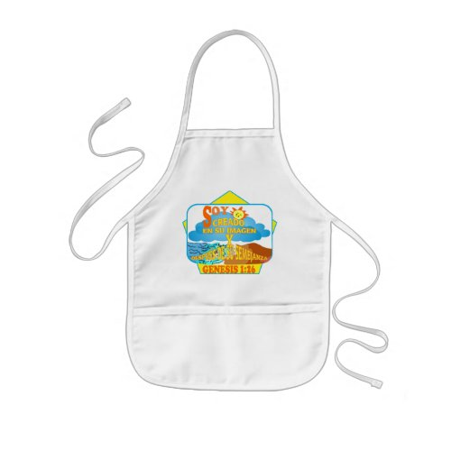 Created in Their Image  Apron Esp Kids Apron