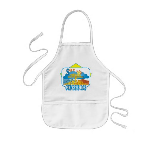 Created In Their Image ESP Kids Apron