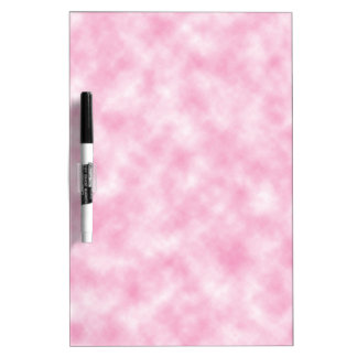 Created Pink Clouds Design Dry-Erase Board