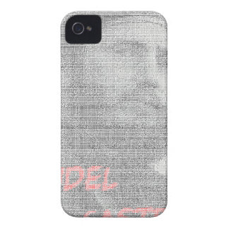 Created with the word Fidel Alejandro Castro Ruz. iPhone 4 Case