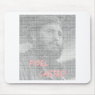 Created with the word Fidel Alejandro Castro Ruz. Mouse Pad