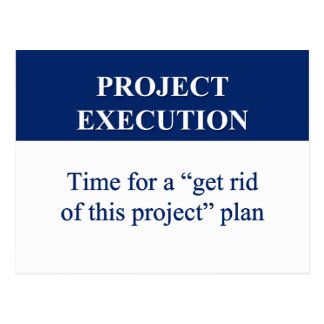 Creating a Project Execution Plan (2) Postcard