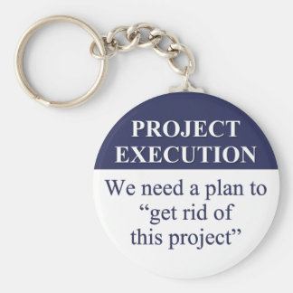 Creating a Project Execution Plan (3) Basic Round Button Keychain