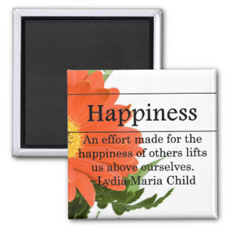 Creating Happiness for Others 2 Inch Square Magnet