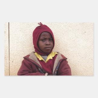 Creating Master Teachers: Abraham Maasai Student Rectangle Stickers