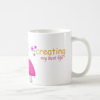 "Creating My Best Life ""Ant"" Design Mugs"