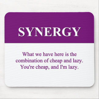 Creating Organizational Synergy (2) Mouse Pad