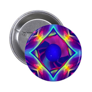 Creating Planet Blue Pinback Button