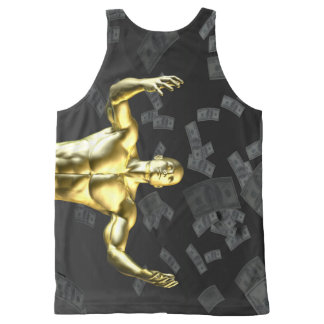 Creating Profit or Money Profits Easily With Man All-Over-Print Tank Top