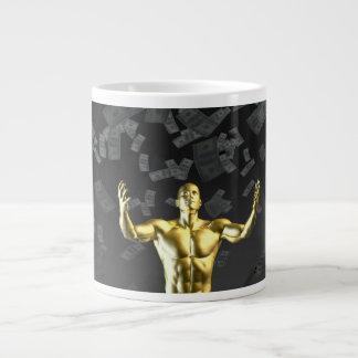 Creating Profit or Money Profits Easily With Man Large Coffee Mug