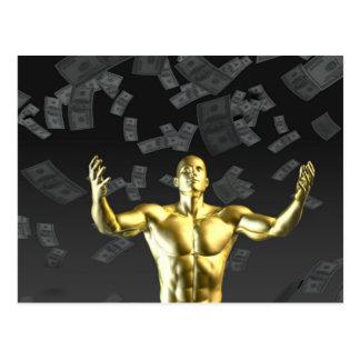 Creating Profit or Money Profits Easily With Man Postcard
