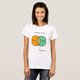 Creating Things Venn Diagram T-Shirt