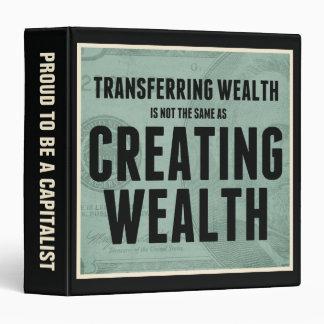 Creating Wealth 3 Ring Binder