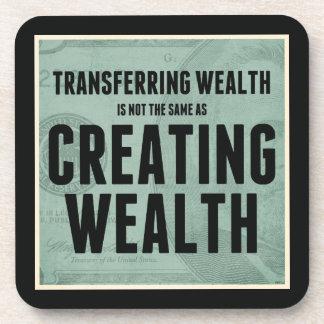 Creating Wealth Beverage Coasters