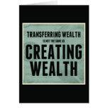 Creating Wealth Greeting Card