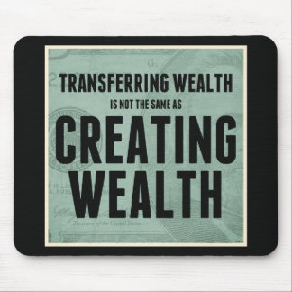 Creating Wealth Mouse Pad