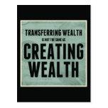 Creating Wealth Postcard