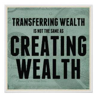 Creating Wealth Poster